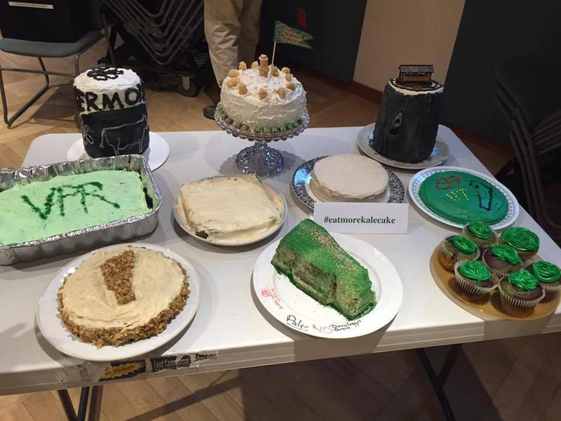 We had a record 10 cakes submitted for State Pride Day.