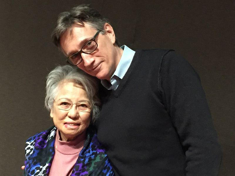 Shigeko Sasamori, atomic bomb survivor, will be speaking about reconciliation and responsibility at Middlebury College with her friend, Clifton Daniel, grandson of President Harry Truman.