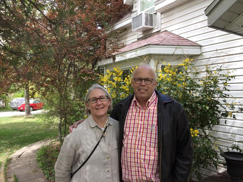 "Paul and Jaelyn Evans of Provo, Utah are concerned about the long- and short-term impact of having NewVistas Foundation purchase the homes in their area. NewVistas developer David Hall hopes to turn the area into a ""sustainable"" community."