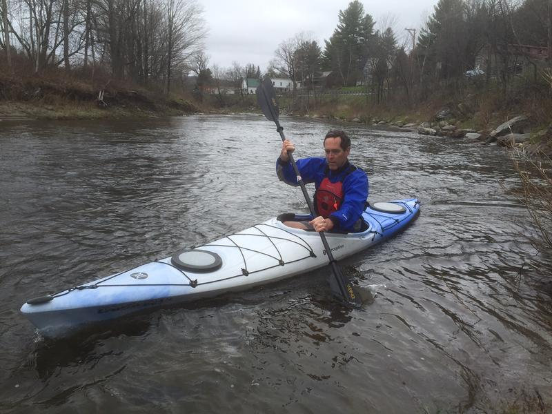 Bruce Lessels owns a kayak rental business on the Deerfield River, which relies on access to the rivers and lakes associated with the hydropower system. TransCanada has expressed interest in selling the system and the state is considering purchasing it.