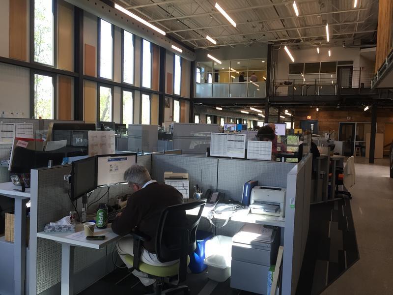 VPR News Center from the southeast corner