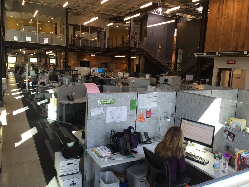 VPR News Center from the southwest corner