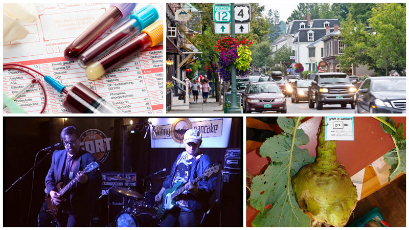 Today on Vermont Edition: a dress code controversy in Woodstock, the science of blood testing, the Gilfeather Turnip and a Live From The Fort performance.