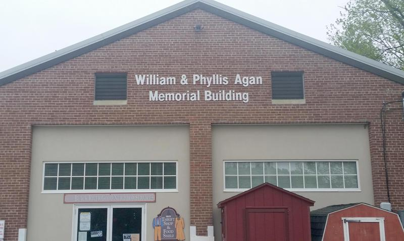 The community is invited to a dedication ceremony of the William & Phyllis Agan Memorial Building at 10 a.m. on June 14.
