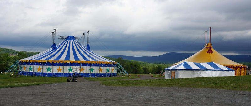 Circus Smirkus is another Greenboro arts organization that uses performance tents. Highland Center for the Arts organizers hope to have future collaborations with the circus as well.