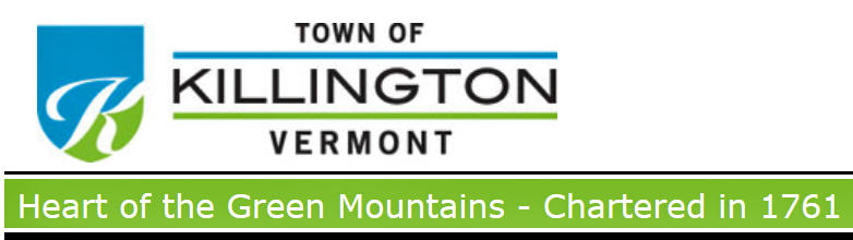 "This banner on the town's website prominently displays the slogan ""Heart of the Green Mountains."" Killington is soliciting feedback on some new slogan ideas."