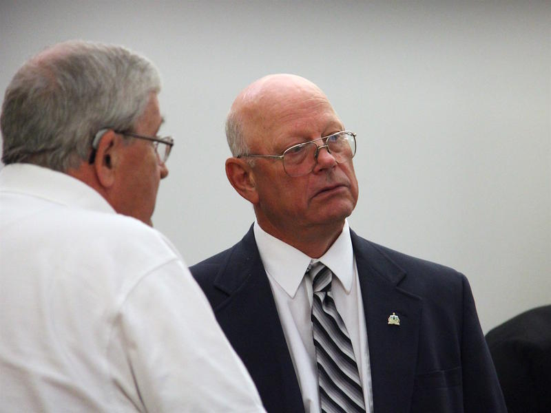 Former Franklin County State Senator Norm McAllister, seen here during his first trial in June, unexpectedly struck a plea deal with prosecutors Wednesday related to a second case brought against him.