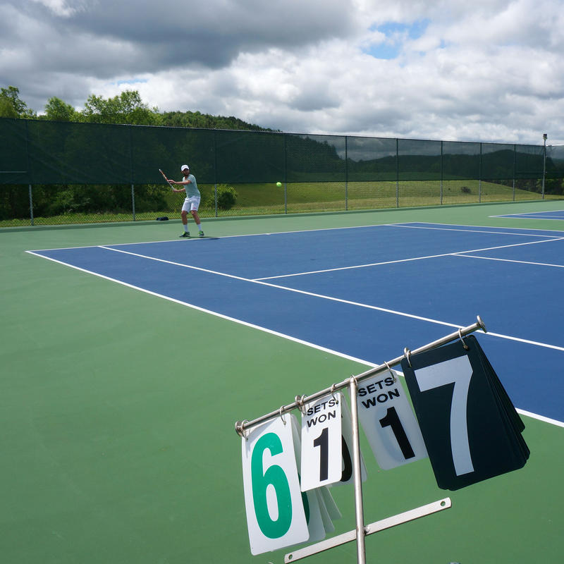 The Stowe Mountain Lodge Classic pro-tennis tournament starts Tuesday and last until Thursday. World class players will compete and use the tournament to warm up for the U.S. Open.