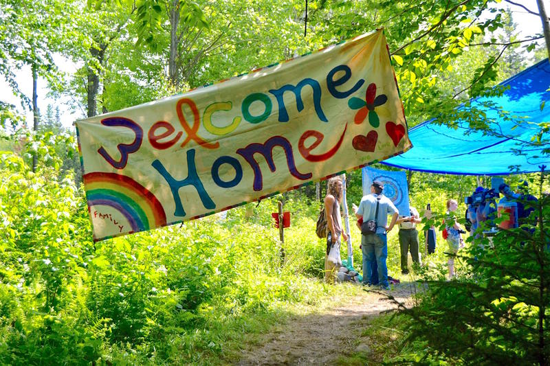 So far, 2,300 people have arrived in Mount Tabor for the annual gathering of the Rainbow Family of Living Light. And thousands more are expected before the July Fourth holiday weekend. At past gathering locations, attendees left behind substantial bills.