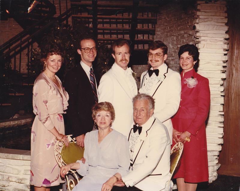 John Killacky, second from left, with family.