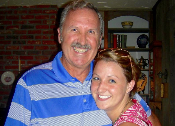 Jon Bellis, shown here with his daughter Erin, was killed on July 31, 2015 after hitting a bull loose on Route 4. The case has sparked outrage from many, who say it was an accident. But prosecutors say the bull had repeatedly wandered.