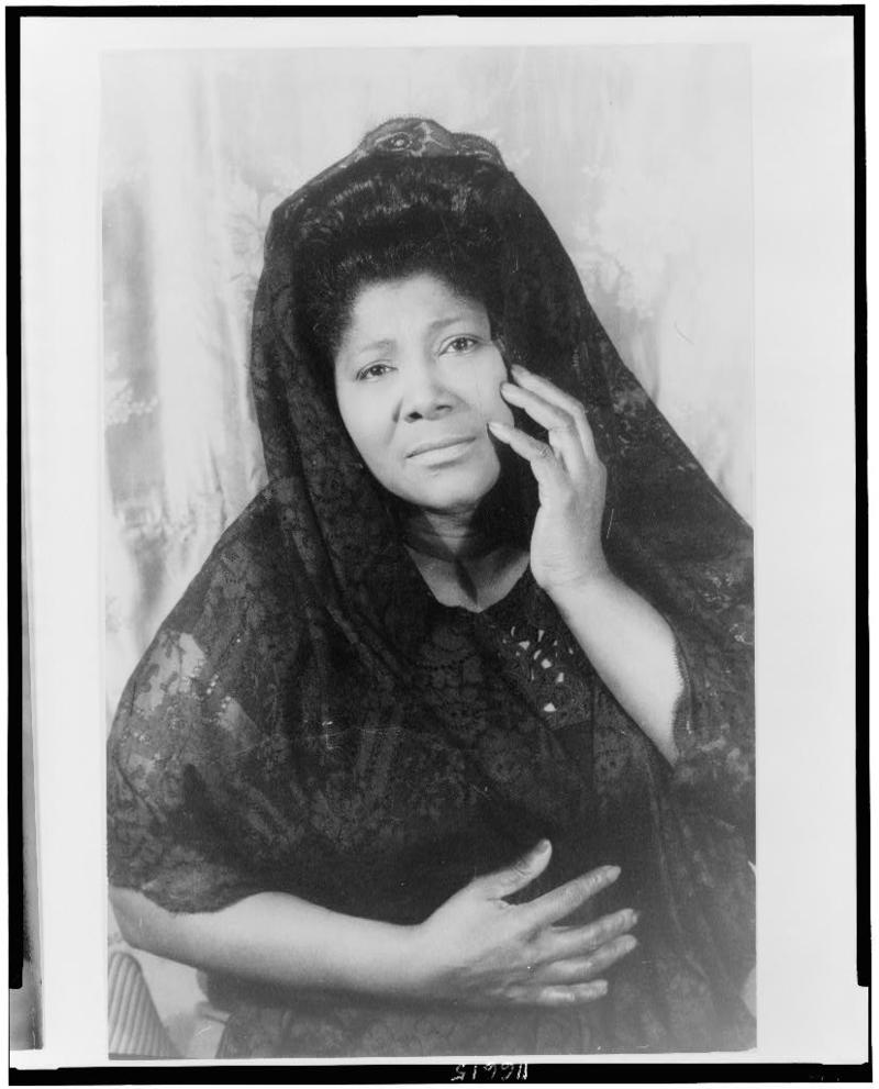 The amazing Mahalia Jackson