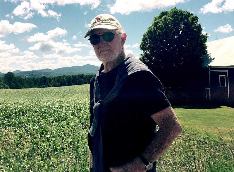 Will Allen, an organic farmer in East Thetford, says the adoption of genetically modified corn in Vermont has triggered a rise in use of toxic herbicides.