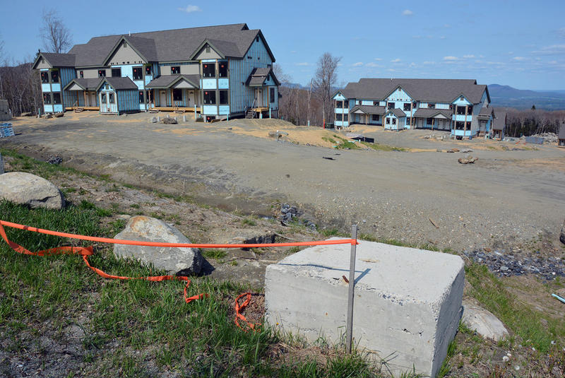Unfinished suites at Jay Peak's Stateside, one of the many projects funded by allegedly misused EB-5 investments. VPR has found that the Shumlin administration held some evidence of the alleged fraud 18 months before the state filed charges.