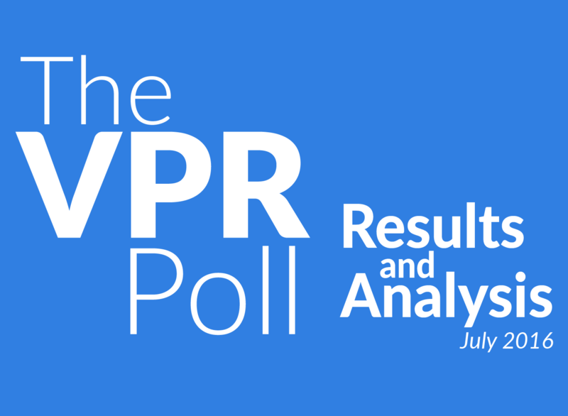 Results from The VPR Poll were released on July 27, 2016.