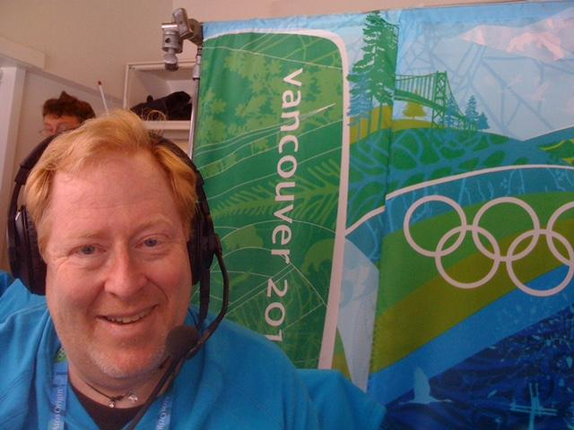 Peter Graves of Thetford, pictured here announcing cross-country ski racing at the 2010 Vancouver Winter Olympics, is headed to the Summer Olympics in Rio as a PA announcer. This marks his ninth trip to the Olympics as either a commentator or announcer.