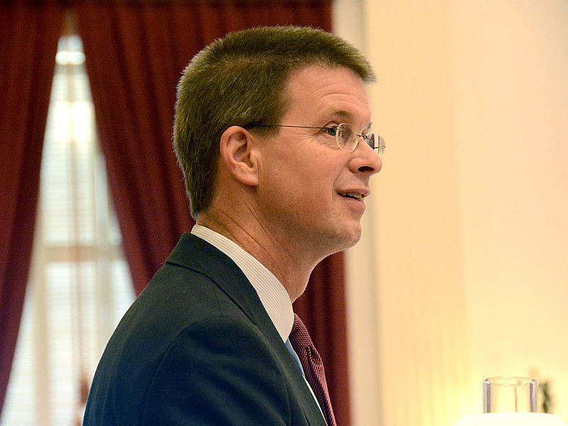 House Speaker Shap Smith is one of three Democratic candidates for Lieutenant Governor.