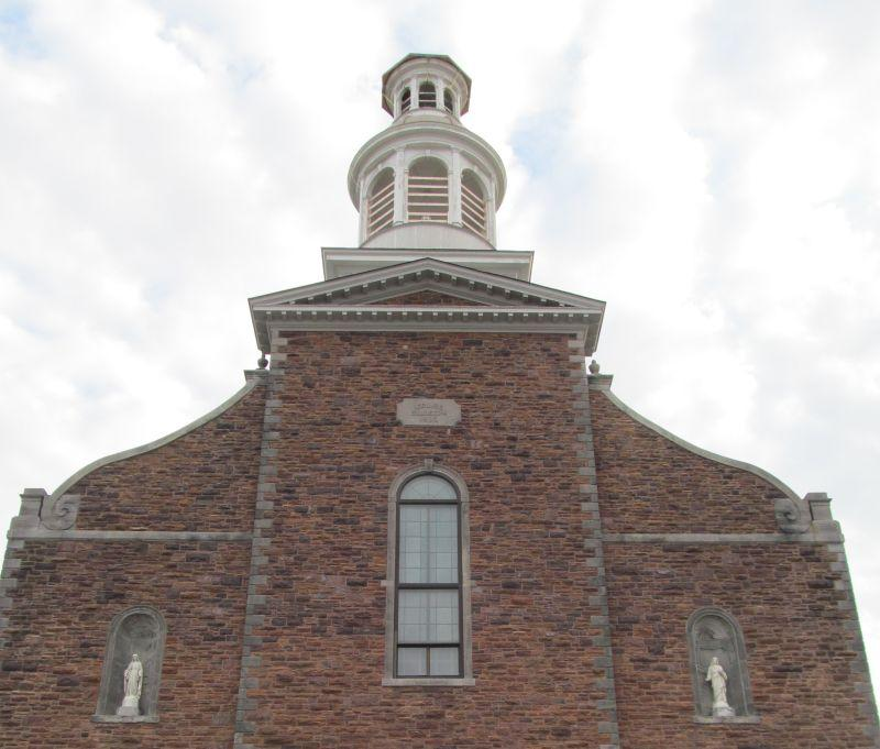 The Co-Cathedral of Saint Joseph in Burlington was built in the 19th century to serve French Canadian Catholic immigrants. We're talking about the history of immigration into Vermont with two historians.