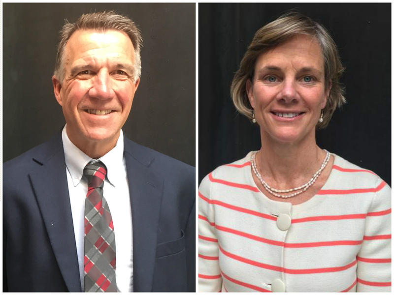 Both of the leading candidates for governor, Lt. Gov. Phil Scott and Sue Minter, suppport creating an ethics commission in Vermont. But when it comes to Scott's construction company, the candidates differ on what constitutes a conflict of interest.