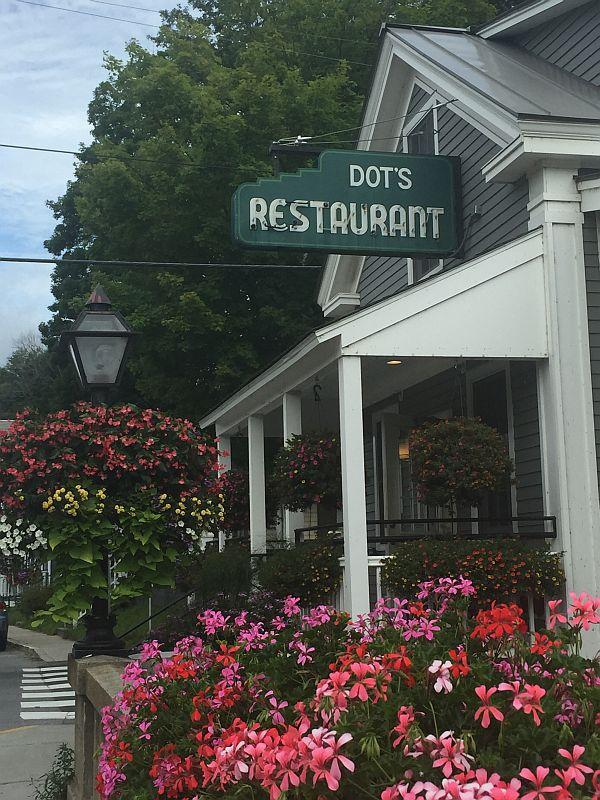 Dot's Restaurant, a casualty of Tropical Storm Irene, has returned to Wilmington.