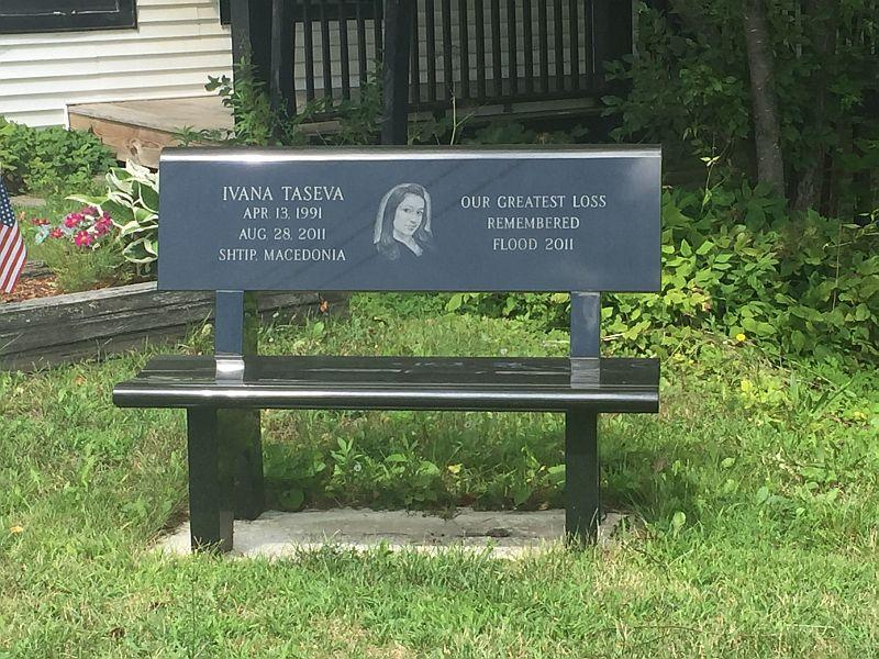 One of the seven people who died during Tropical Storm Irene is commemorated in Wilmington.