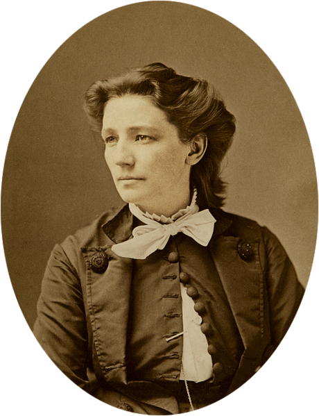 Victoria Claflin Woodhull between 1866 and 1873 by Mathew Brady