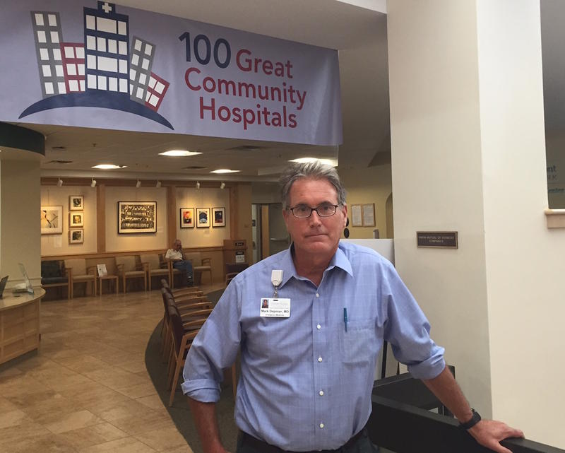 Dr. Mark Depman is the director of the emergency department at the Central Vermont Medical Center in Berlin. Depman's department has seen an influx of heroin overdoses in recent days related to a potent batch of heroin circulating in the area.
