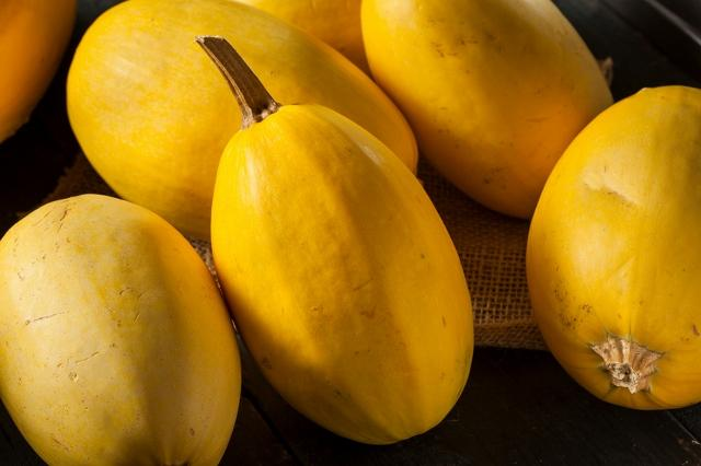 Winter squash take care of themselves once planted. Due to the hot summer, they might start to mature earlier than in previous years. There are many kinds of winter squash, including spaghetti squash, acorn squash and butternut squash.