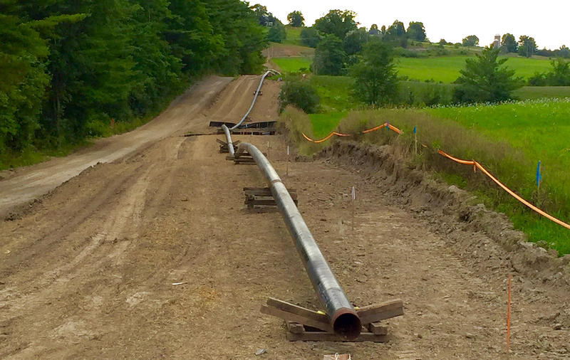 The Vermont Gas pipeline to Addison County has been completed, but state regulators are looking into whether the company violated safety protocols while blasting during construction.