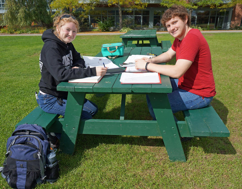 Johnson and Lyndon State Colleges will become one yet-to-be-named institution, with two campuses. Johnson students Shayna Bennett and William Dudley think it will be good to have more classes to choose from, but they'd like to know more about logistics.