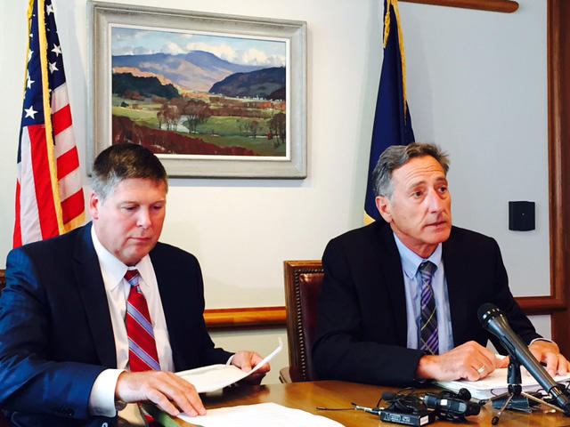 Green Mountain Care Board chairman Al Gobeille, left, and Gov. Peter Shumlin announced Wednesday that the state has a verbal agreement with the federal government to change Vermont's health care payment system.
