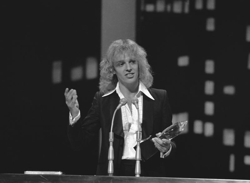 Peter Frampton, here at the People's Choice Awards in Los Angeles in February 1978, released his album 'Frampton Comes Alive!' in January 1976. Some songs on that live album were recorded at a Plattsburgh State concert in November 1975.