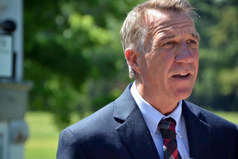 "Lt. Gov. Phil Scott, shown here on Aug. 3, says he's concerned by the Shumlin administration's accelerated timetable for the approval of an ""all-payer"" system of health care payment reform."