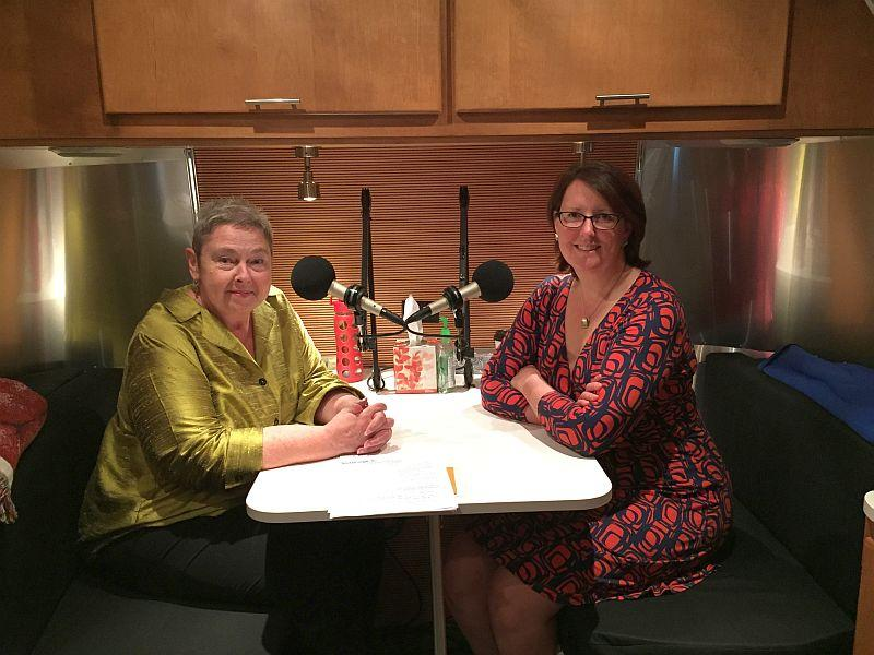 Betty Smith-Mastaler talked with Robin Turnau about the beginnings of VPR at the StoryCorps mobile booth in Burlington.