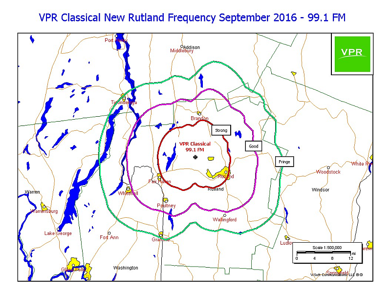 VPR Classical 99.1 coverage map