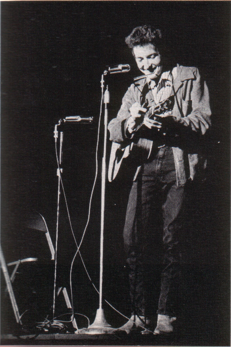 Bob Dylan at St. Lawrence University February 1963