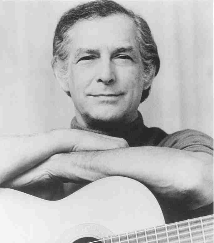 Oscar Brand, folksinger and radio host