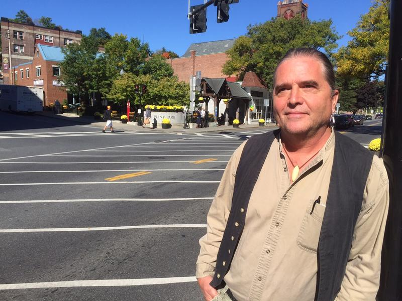 Rich Holschuh is a member of the Vermont Commission on Native American Affairs, and he asked Gov. Peter Shumlin to issue an executive proclamation re-naming Columbus Day as Indigenous People's Day. Holschuh is also pushing for a change in Brattleboro.