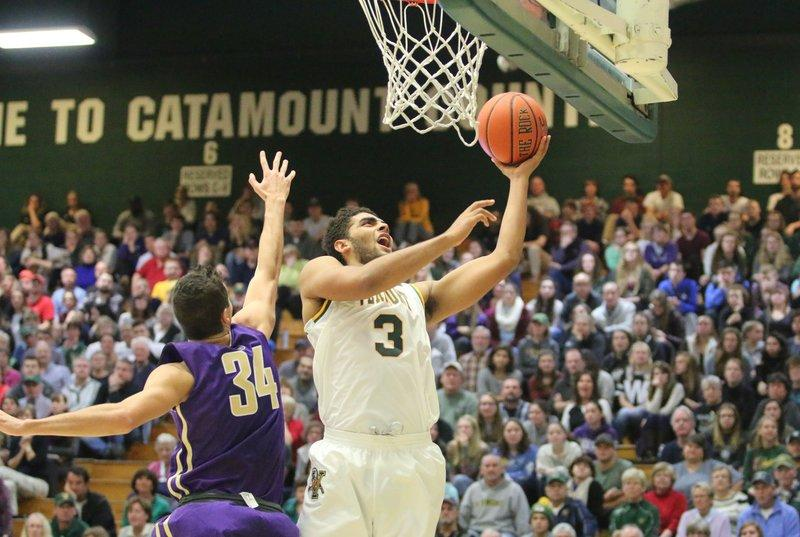 Anthony Lamb, a freshman at UVM, could be Vermont's most skilled player in a decade. This season, the men's basketball teams has high hopes due to a strong roster of players, including Lamb.