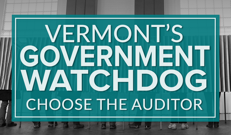 Learn more about the 2016 candidates for Vermont's auditor of accounts: Doug Hoffer, Dan Feliciano and Marina Brown.