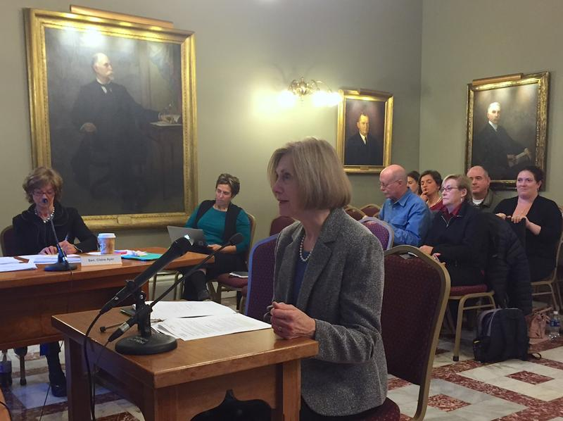 Deputy Commissioner of Health Barbara Cimaglio briefed lawmakers Monday on efforts to expand treatment capacity for opiate addicts in Vermont.