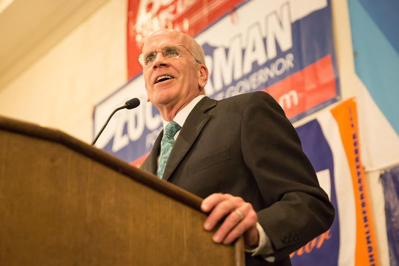 Rep. Peter Welch, who has cruised to re-election for his sixth term in Congress, spoke to supporters at the Hilton hotel in Burlington on Tuesday night.