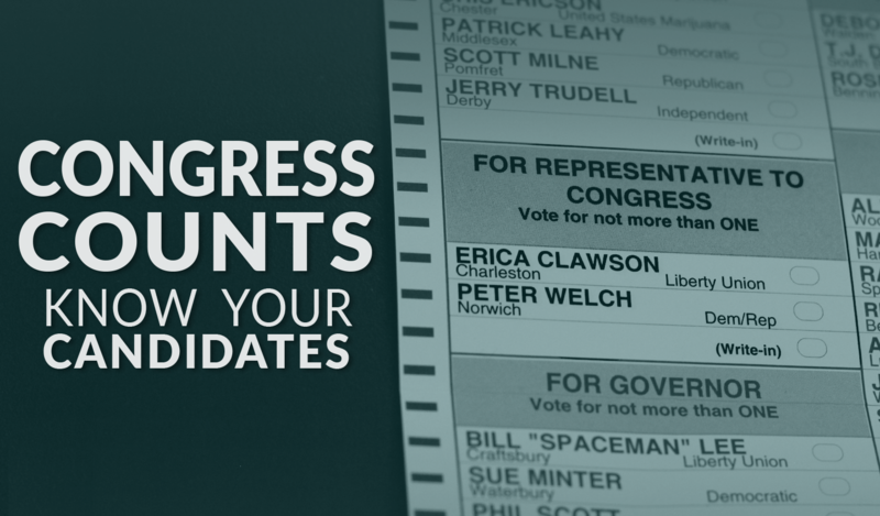 Learn more about Vermont's candidates running for the U.S. House of Representatives in the 2016 general election.