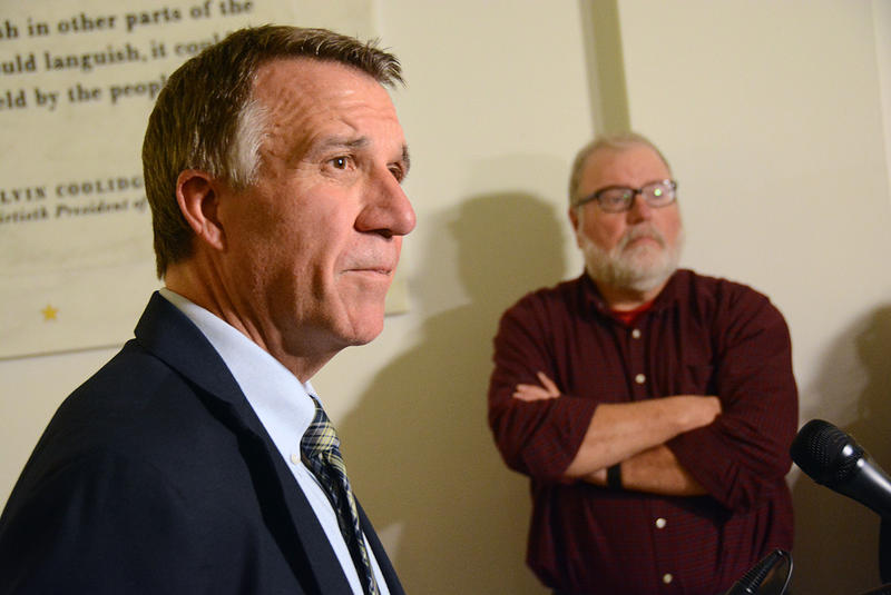 Gov.-elect Phil Scott says he's most concerned about the future of Vermont's health care initiatives in the coming year.