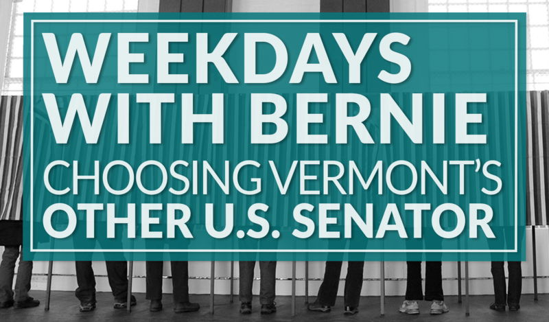 Learn more about Vermont's candidates running for U.S. Senate in the 2016 general election.
