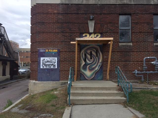 242 Main began in the mid-1980s as a multi-use teen center in Burlington. The space is closing due to structural issues with Memorial Auditorium, but there's an effort underway to keep its programming in the community.