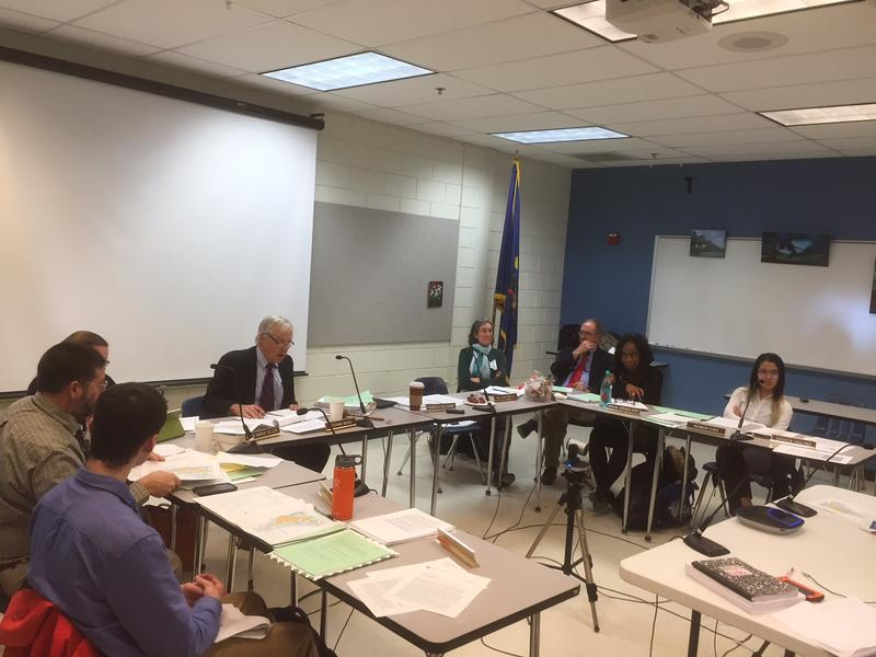 The State Board of Education met Tuesday at U-32 High School in Montpelier.