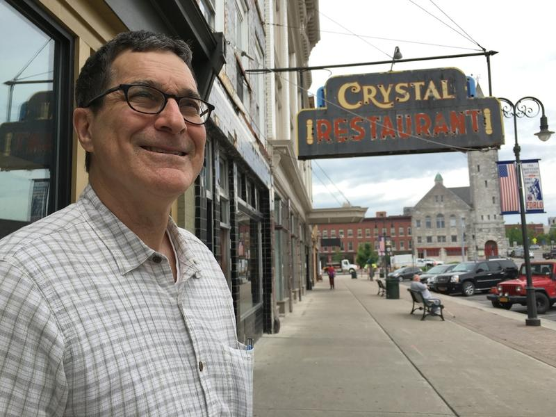 Bruce Seifer, a longtime economic developer in Burlington, in downtown Watertown, N.Y. Now, Seifer is bringing the ideas that inspired Burlington's renaissance to other struggling areas.