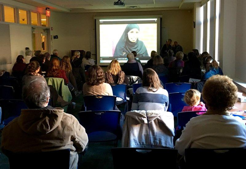 On Thursday, about 30 people gathered for the second in a series of orientation meetings aimed at recruiting volunteers to help with refugee resettlement in Rutland.