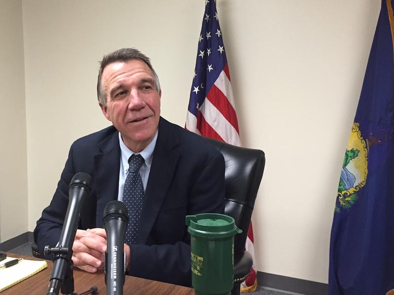 During a wide-ranging, hour-long news conference Monday, Governor-elect Phil Scott was repeatedly asked about the recent actions of President-elect Donald Trump.